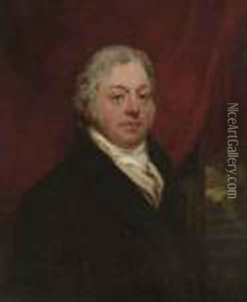 Portrait Of Joseph Greaves, Esq. Oil Painting - Sir William Beechey