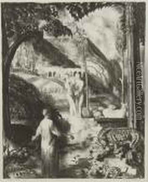 Farewell To Utopia Oil Painting - George Wesley Bellows