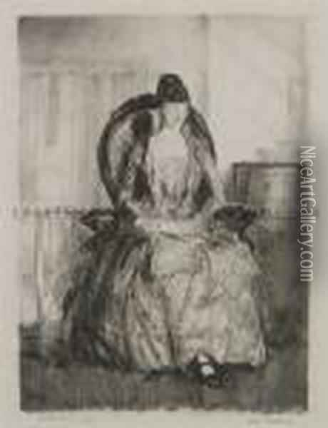 Emma Oil Painting - George Wesley Bellows