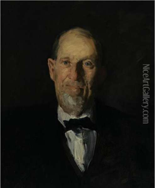 Uncle Charles Oil Painting - George Wesley Bellows