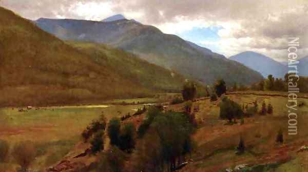 The Land, Keene Valley Oil Painting - William Howard Hart