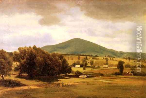 View of New Hampshire Oil Painting - William Howard Hart
