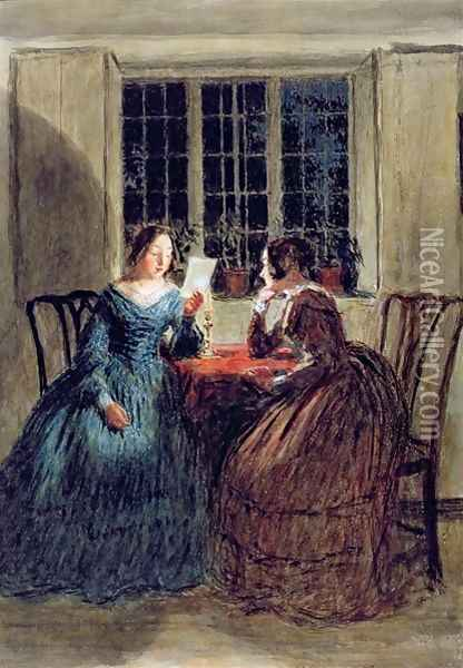 Scene by Candlelight Oil Painting - William Henry Hunt