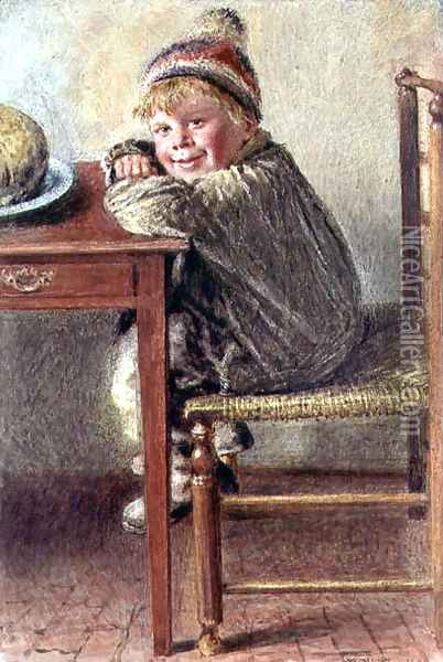 Anticipation Oil Painting - William Henry Hunt