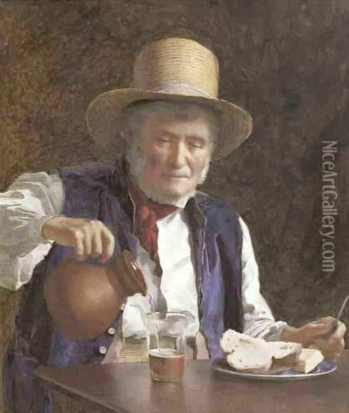 Lunch Time Oil Painting - James Hayllar