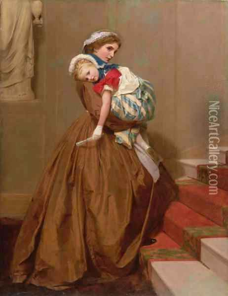 Miss Lilys Return from the Ball Oil Painting - James Hayllar