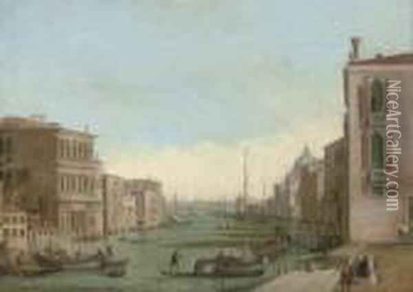 The Grand Canal, Venice, Looking