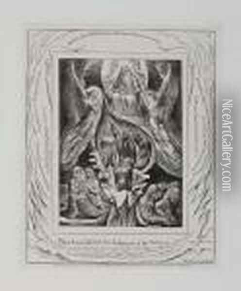 Thou Hast Fulfilled The Judgment Of The Wicked Oil Painting - William Blake