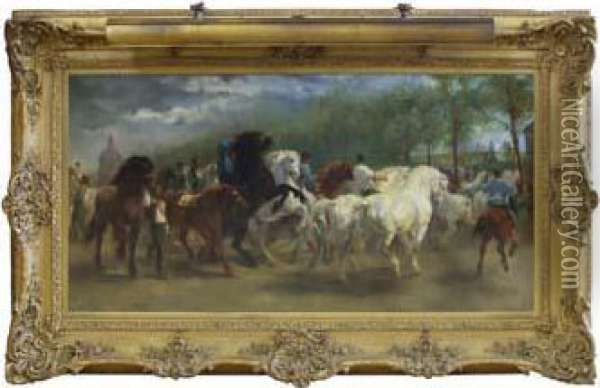 French Oil Painting - Rosa Bonheur