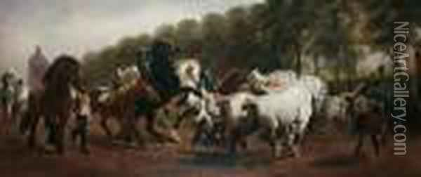 The Horse Fair Oil Painting - Rosa Bonheur