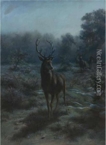 King Of The Forest Oil Painting - Rosa Bonheur