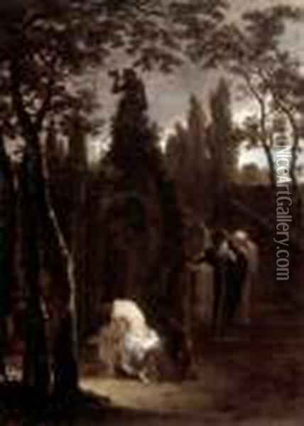 Susanna And The Elders Oil Painting - Jan Both