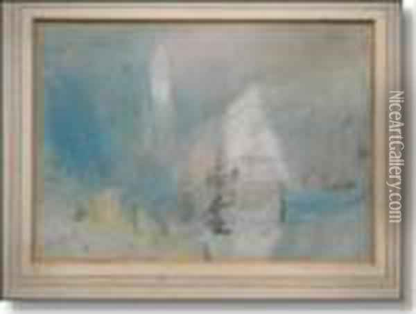 Brabazon Oil Painting - Hercules Brabazon Brabazon