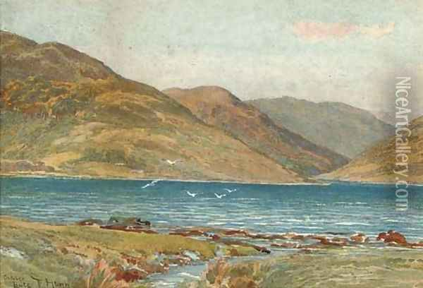 Bute Oil Painting - Thomas H. Hunn