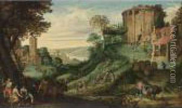 An Extensive Landscape With 