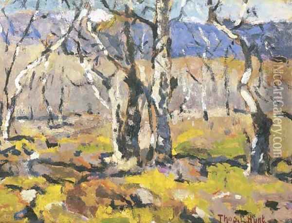 Sierra Madre Landscape Oil Painting - Thomas Hunt