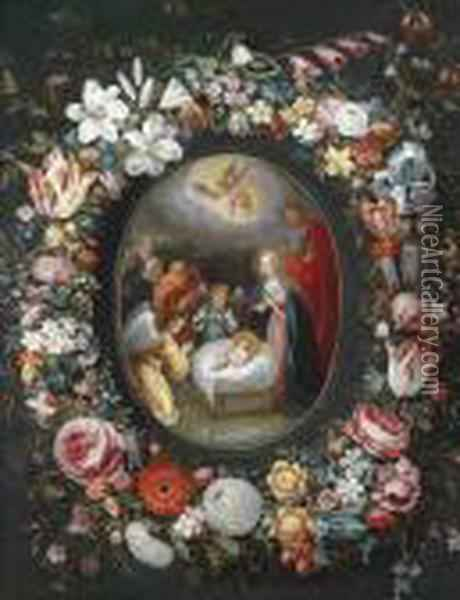 The Birth Of Christ Oil Painting - Jan Brueghel the Younger