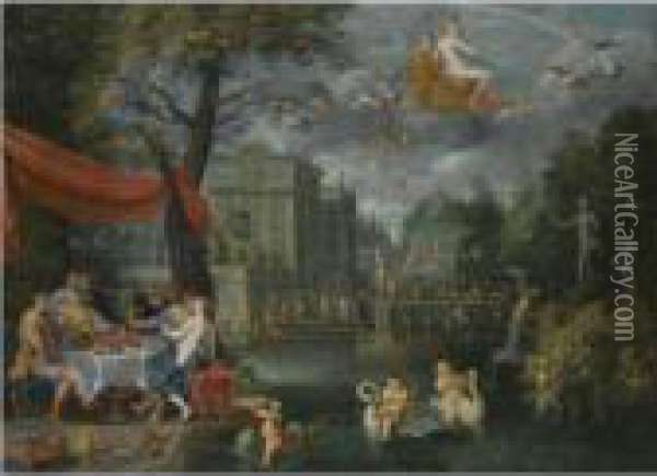 An Allegory Of Peace Oil Painting - Jan Brueghel the Younger