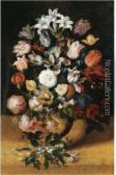 Still Life Oil Painting - Jan Brueghel the Younger