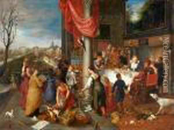 Le Quattro Stagioni Oil Painting - Jan Brueghel the Younger