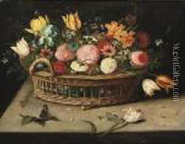 Roses, Peonies, Tulips, 