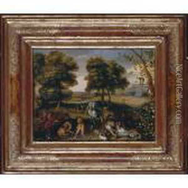 The Creation Oil Painting - Jan Brueghel the Younger