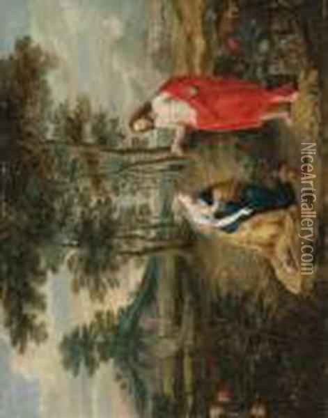 Noli Me Tangere Oil Painting - Jan Brueghel the Younger