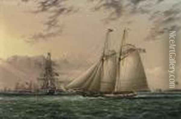 Mr. William Astor's Schooner