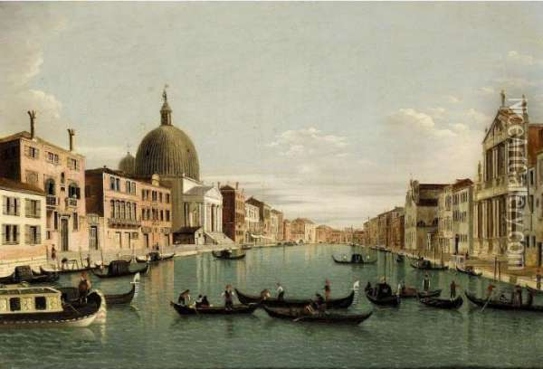 Venice, A View Of The Grand 