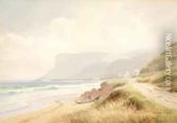 Fairhead Oil Painting - Joseph Carey Carey