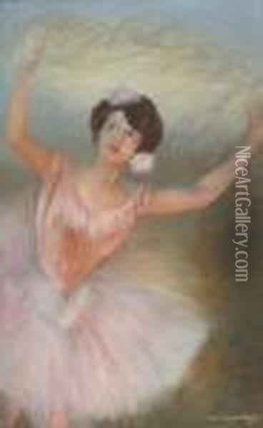 La Danse Oil Painting - Pierre Carrier-Belleuse