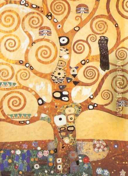 Tree of Life Oil Painting - Gustav Klimt