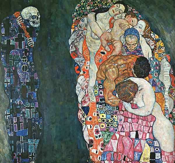 Death and Life 1911 Oil Painting - Gustav Klimt