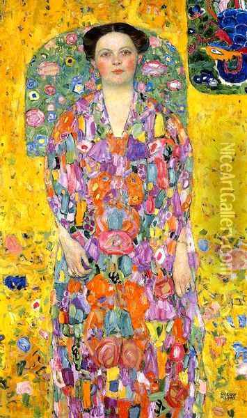 Portrait of Eugenia (Mada) Primavesi Oil Painting - Gustav Klimt