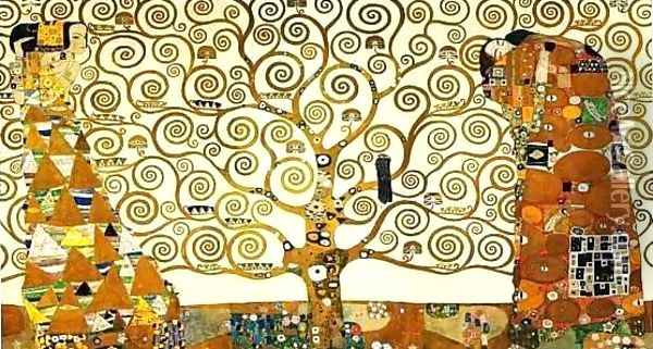 The Tree of Life Oil Painting - Gustav Klimt
