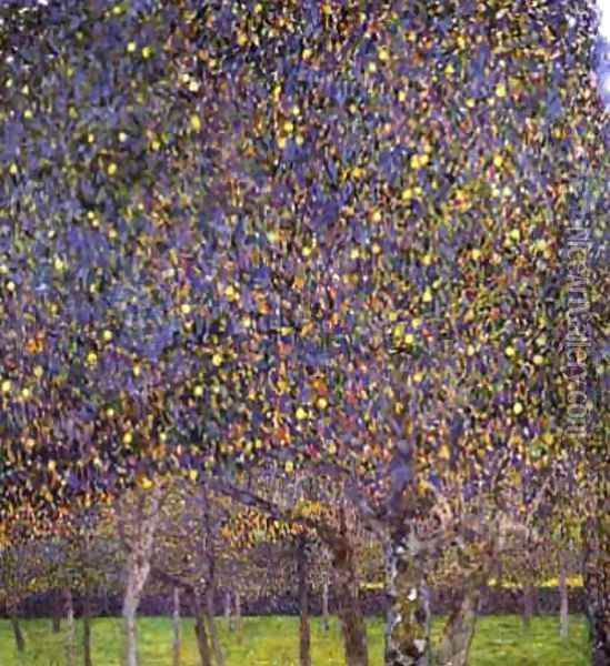The Pear Tree Oil Painting - Gustav Klimt