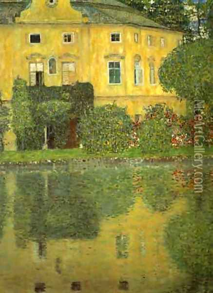 Schlob Kammer On The Attersee Oil Painting - Gustav Klimt