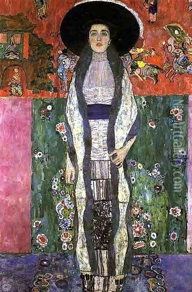 Portrait Of Adele Bloch Bauer II Oil Painting - Gustav Klimt