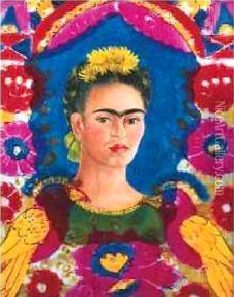 Frame Oil Painting - Frida Kahlo
