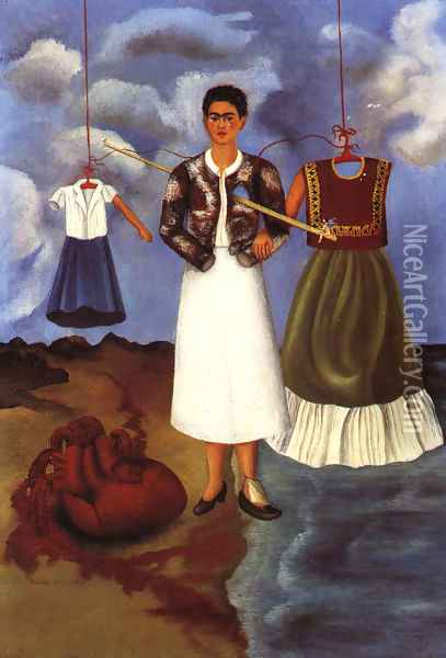 Memory Or The Heart 1937 Oil Painting - Frida Kahlo