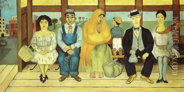 The Bus 1929 Oil Painting - Frida Kahlo