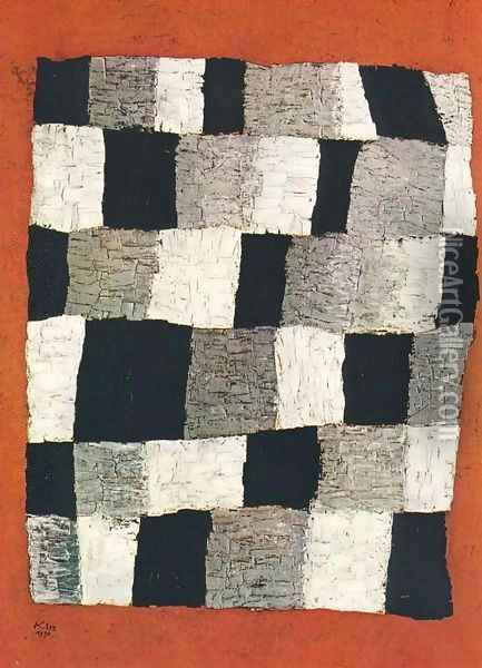 Rythmisches Oil Painting - Paul Klee