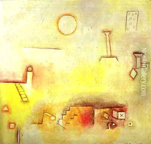 Reconstructing Oil Painting - Paul Klee