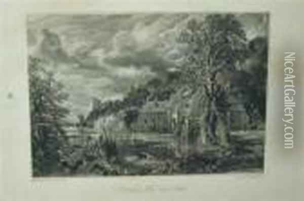 Arundel Mill And Castle Oil Painting - John Constable