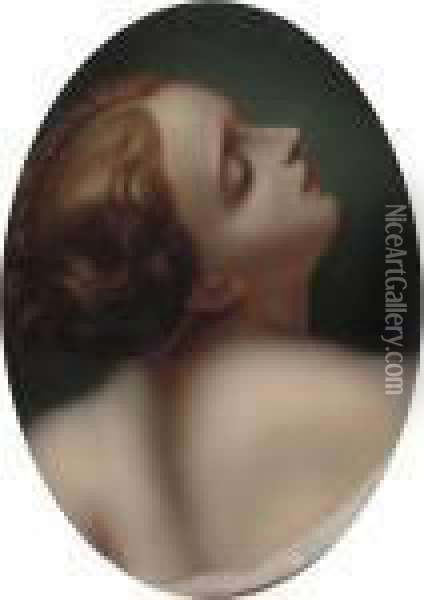 Io Oil Painting - Correggio, (Antonio Allegri)