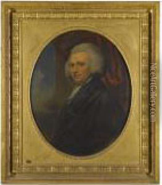 Portrait Of Henry Reginald Courtenay Oil Painting - Richard Cosway