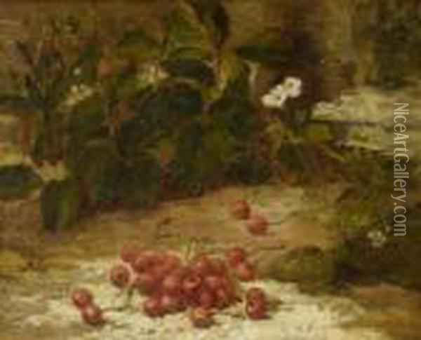 Still Life Oil Painting - Gustave Courbet