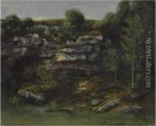 La Source Oil Painting - Gustave Courbet
