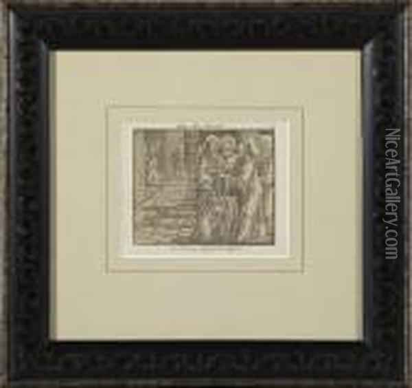 Scenes From The Newtestament Oil Painting - Lucas The Elder Cranach