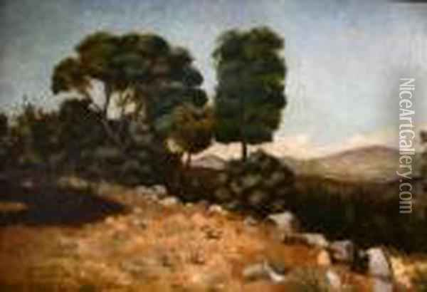 Spring Valley, New York Oil Painting - Bruce Crane